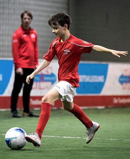 SQ Talents Talentakademie - Junge beim Training