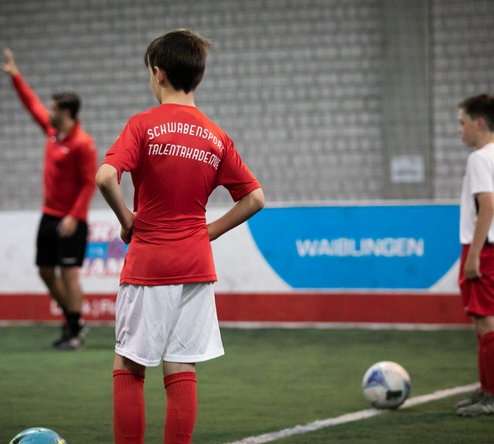 Probetraining Fußball: Training